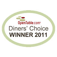 Open Tables Diners Choice 2011