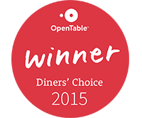 Open Tables Diner Choice 2015