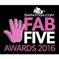 Saratoga.Com Fab Five Awards 2016