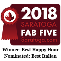 Saratoga.com Fab Five Awards 2018