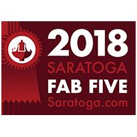 Saratoga.com Fab Five Awards 2018